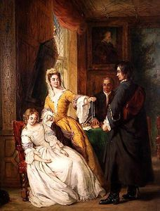 William Powell Frith - 愛 トークン  -