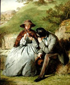 William Powell Frith - 恋人たち -