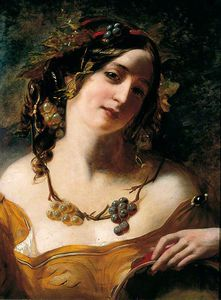 William Etty - Baccante