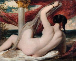 William Etty - ヌード