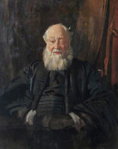 William Newenham Montague Orpen - 博士 執事  インチ  ローブ