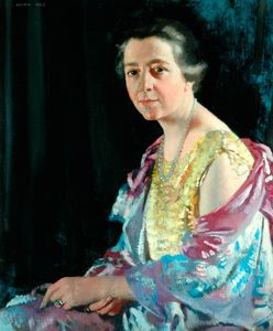 William Newenham Montague Orpen - 夫人トーマス·ハワース