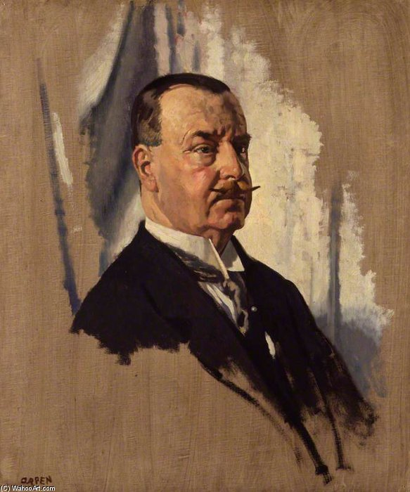 卿 ヨセフ  ジョージ  区  1st   Btの  バイ William Newenham Montague Orpen (1878-1931, Ireland)