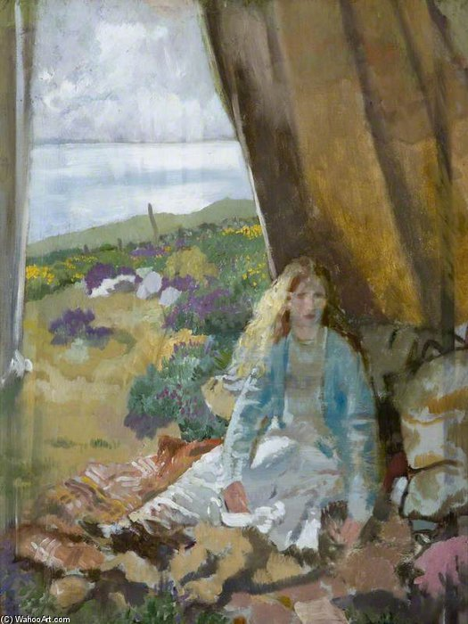 サマータイム バイ William Newenham Montague Orpen (1878-1931, Ireland)