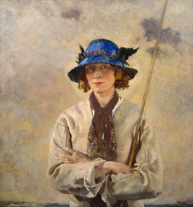 William Newenham Montague Orpen - アングラー