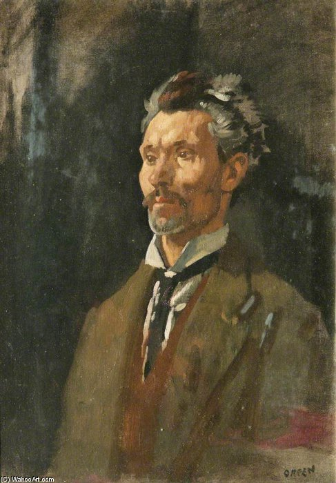 無題 バイ William Newenham Montague Orpen (1878-1931, Ireland)