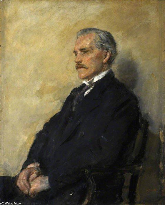 ジェームズ·ラムゼイマクドナルド バイ Ambrose Mcevoy (1878-1927, United Kingdom)   「額入りプリント   WahooArt.com