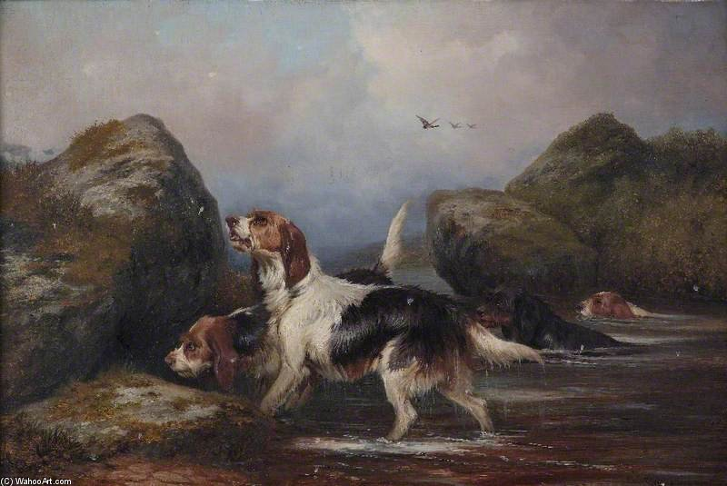 犬 バイ Colin Graeme Roe (1858-1910, United Kingdom)
