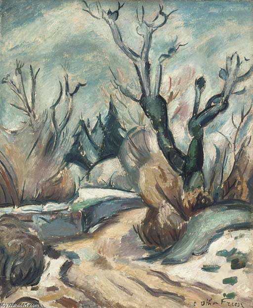 ジュラ バイ Emile Othon Friesz (1879-1949, France)