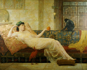 Frederick Goodall - A 夢 Of Paradise
