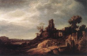 順序 「アート再現 | 風景 バイ Govert Teunisz Flinck (1615-1660, Germany) | WahooArt.com