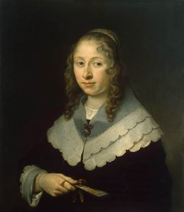 順序 手描き油絵 | の肖像画 woman バイ Govert Teunisz Flinck (1615-1660, Germany) | WahooArt.com