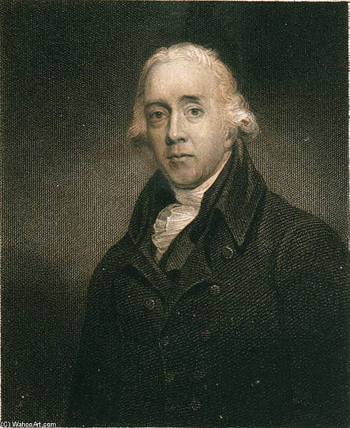 ニコラスPocockの肖像 バイ Nicholas Pocock (1740-1821, United Kingdom)
