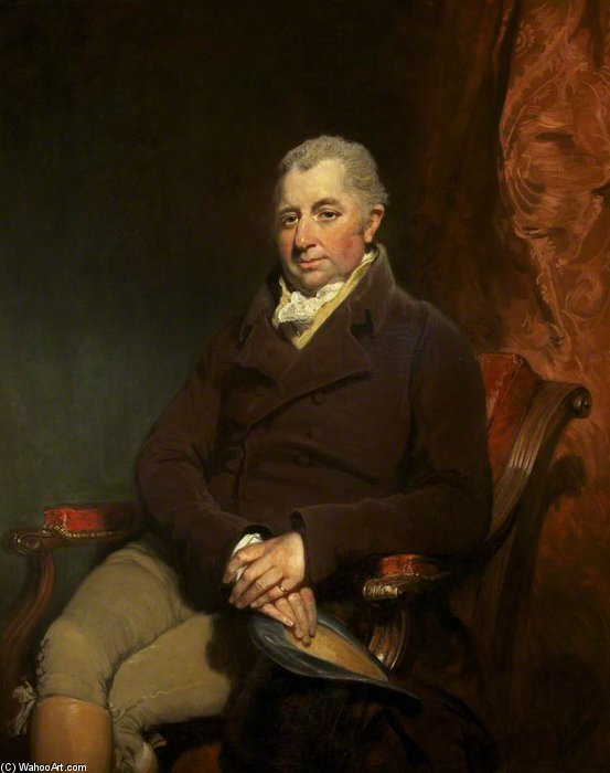 卿 チャールズ グールド Morgan-robinson バイ William Owen (1769-1825, United Kingdom)