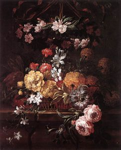 Pieter The Younger Holsteyn - 花 Piece_2
