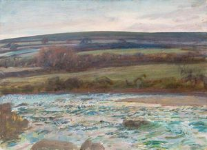 Alfred James Munnings - Brightworthyフォード、Withypool、エクスムーア - (10)