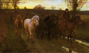 Alfred James Munnings - 旅行