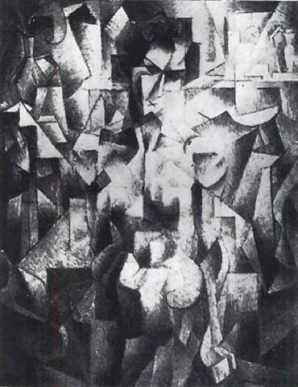 ニュー À ラ シュミネ バイ Jean Dominique Antony Metzinger (1883-1956, France)