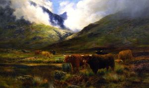 Louis Bosworth Hurt - Clachaig、Clencoe