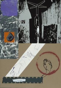 R B Kitaj - Glue-words