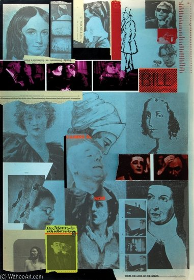 から `lives` の 聖人 バイ Ronald Brooks Kitaj (1932-2007, United States)