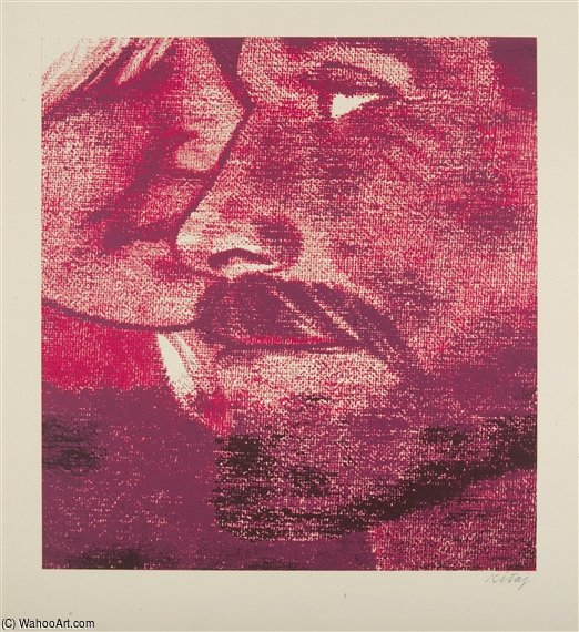 親密 バイ Ronald Brooks Kitaj (1932-2007, United States) | 手作りの絵画 | WahooArt.com