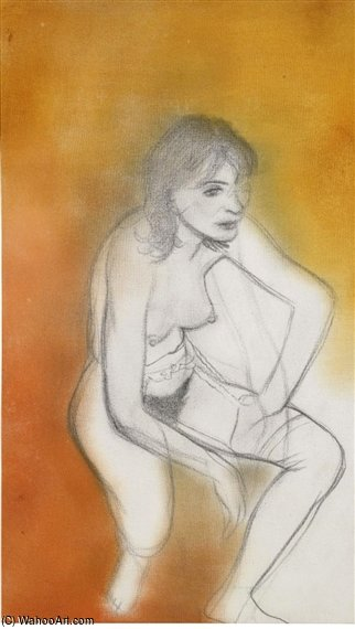 リンダ バイ Ronald Brooks Kitaj (1932-2007, United States)