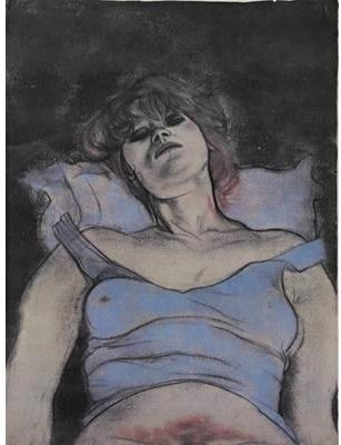 マリアン バイ Ronald Brooks Kitaj (1932-2007, United States)