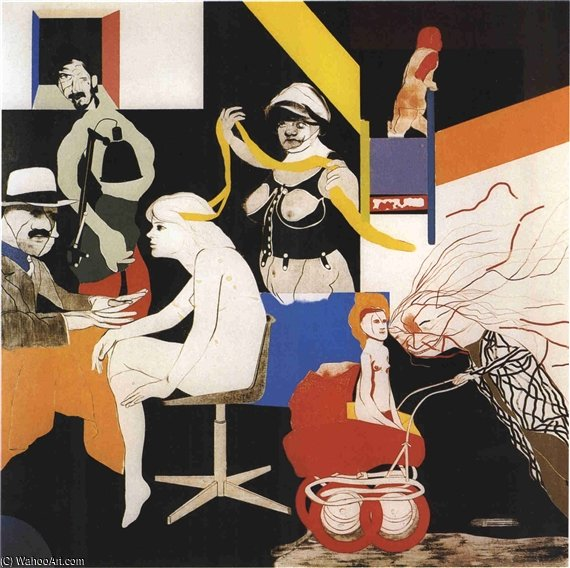 オハイオギャング バイ Ronald Brooks Kitaj (1932-2007, United States) |  | WahooArt.com