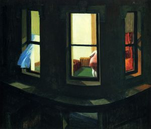 Edward Hopper - 夜のWindows