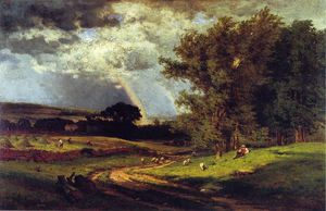 George Inness - 雨脚