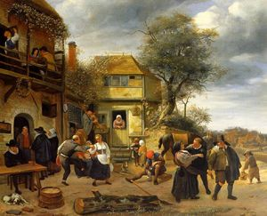 Jan Havicksz Steen - 農民