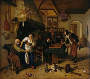 Jan Steen - Twee_rlei 呪文 日