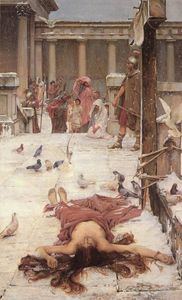 John William Waterhouse - 聖エウラリア