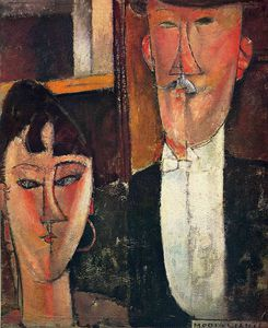 Amedeo Modigliani - (9973)無題