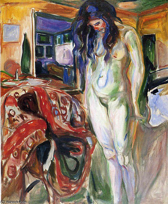 無題(2418) バイ Edvard Munch (1863-1944, Sweden)