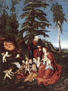 Lucas Cranach The Elder - 無題 (8527)