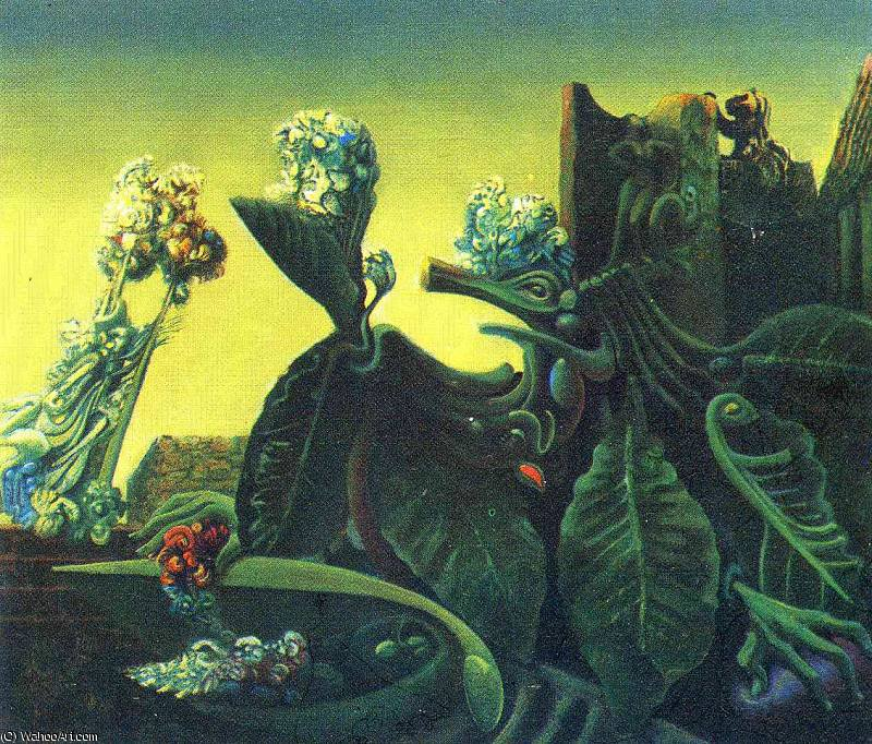 無題 (9338) バイ Max Ernst (1891-1976, Germany)