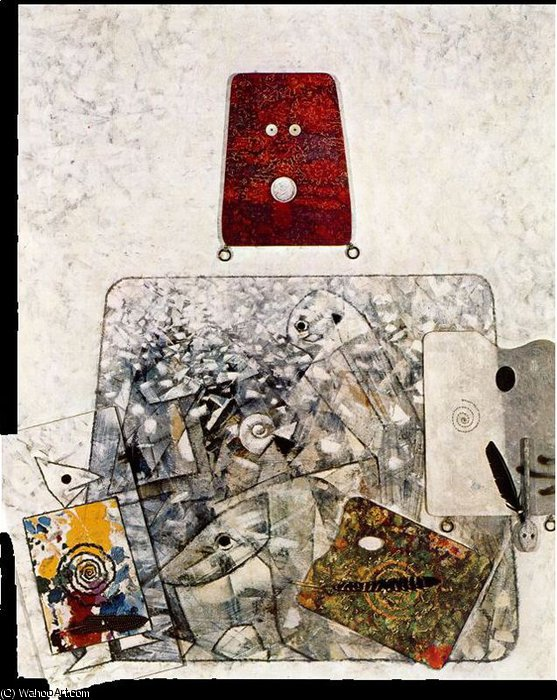 無題 3054   バイ Max Ernst (1891-1976, Germany)
