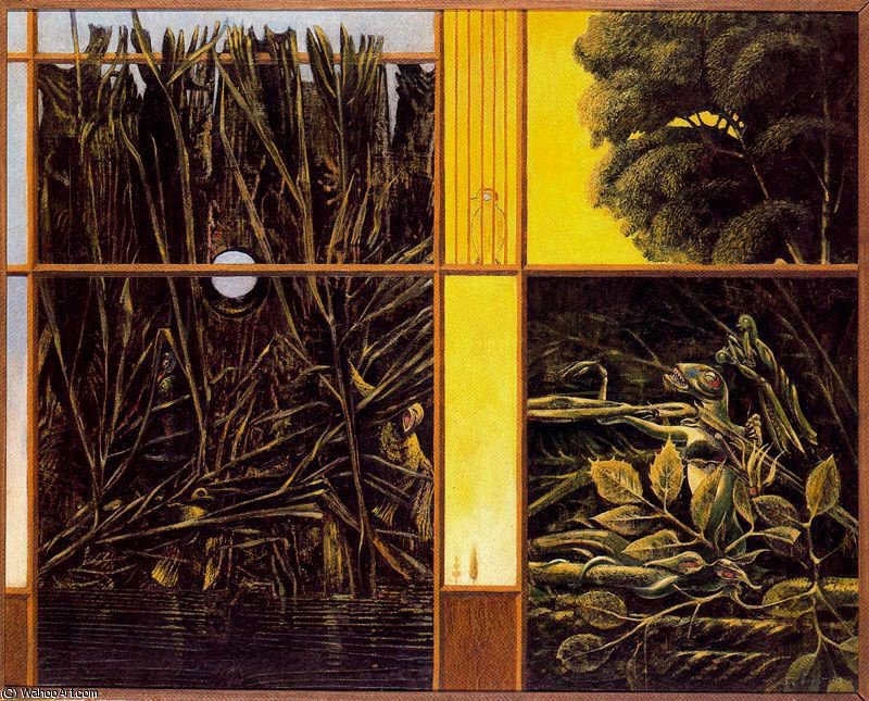 無題 (7510) バイ Max Ernst (1891-1976, Germany)