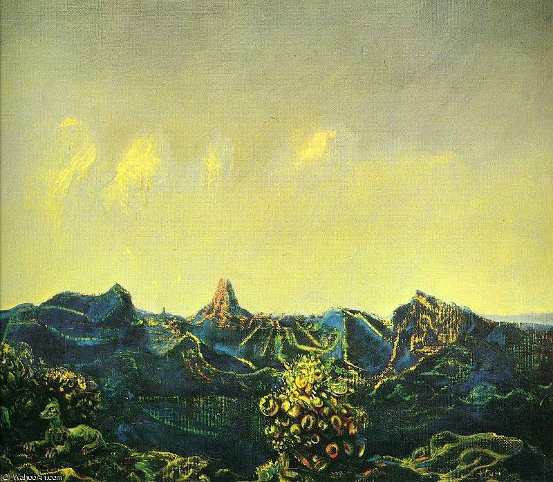 無題 (5979) バイ Max Ernst (1891-1976, Germany)