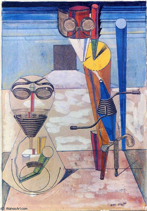 無題 4345   バイ Max Ernst (1891-1976, Germany)