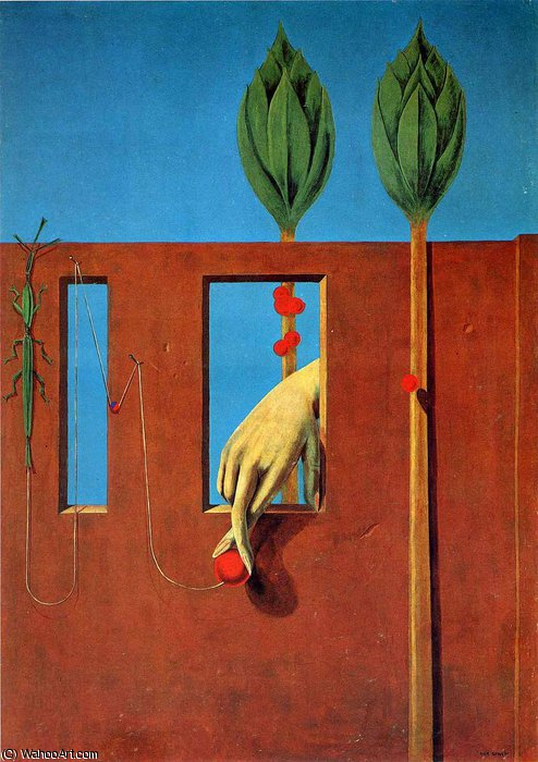 無題 594   バイ Max Ernst (1891-1976, Germany)