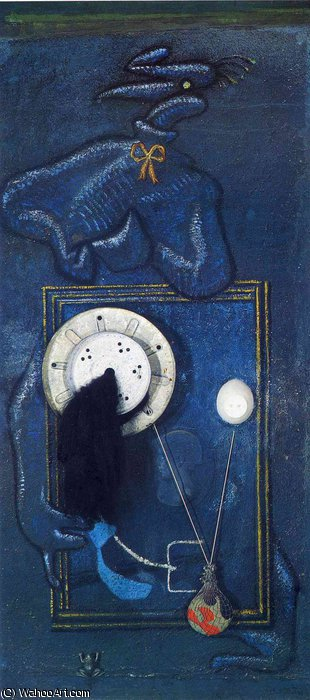 無題 (5029) バイ Max Ernst (1891-1976, Germany)