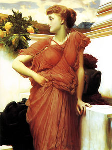 Lord Frederic Leighton - 噴水で