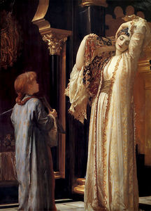 Lord Frederic Leighton - ハーレムの光