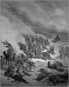 Paul Gustave Doré - グラナダに対する十字軍