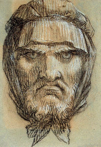 Pierre-Paul Prud'hon - Proud-hon ピエール ポール の肖像画 man