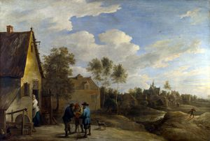 David The Younger Teniers - A の表示 a 村