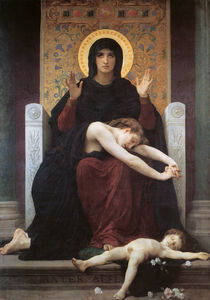 William Adolphe Bouguereau - ビエルヘ consolatrice